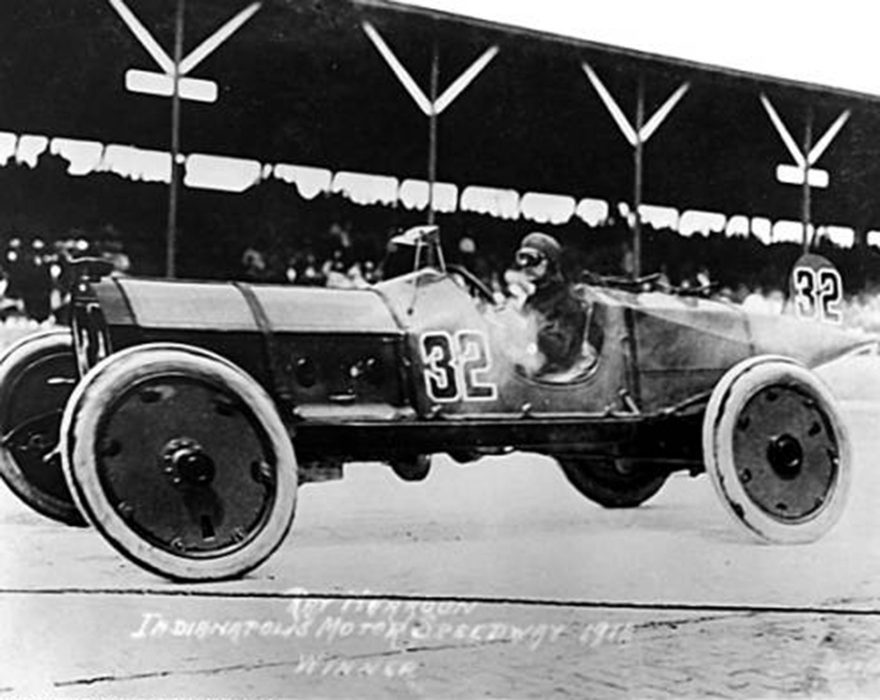 The First Indianapolis 500