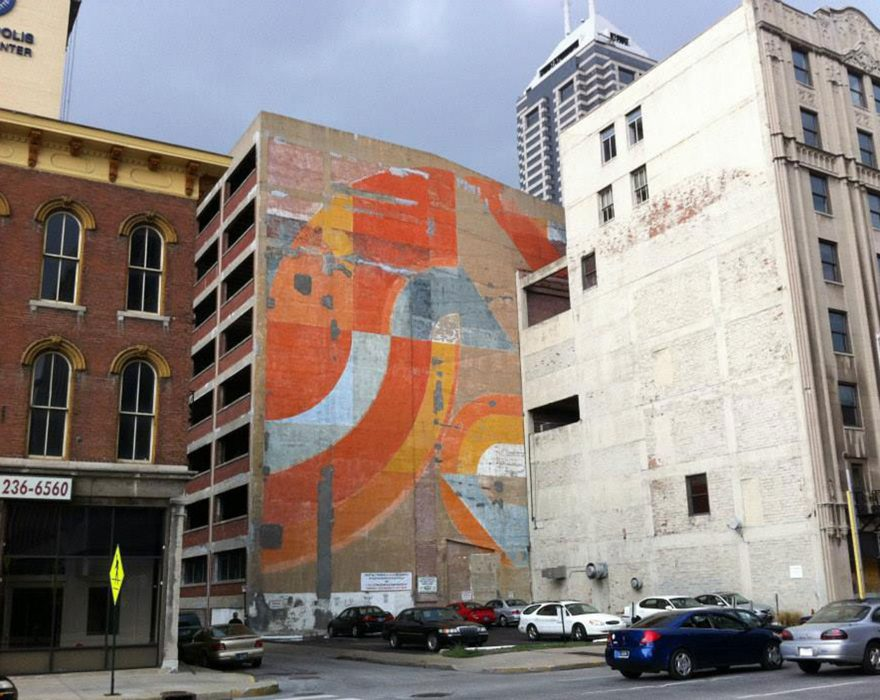 Image from RATIO Architects blog story A Mural Sparks Urban Reflection