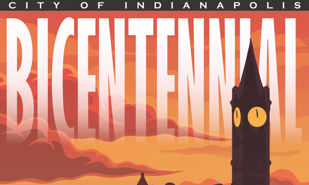 Indianapolis Historic Preservation Commission's Bicentennial Poster Project