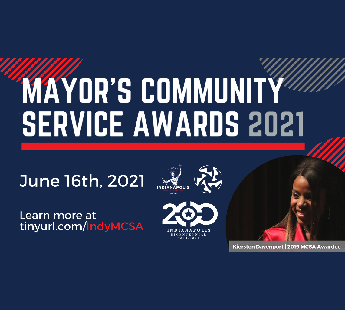 2021 Mayor's Community Service Awards